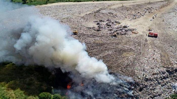 На крупной свалке под Тернополем случился пожар