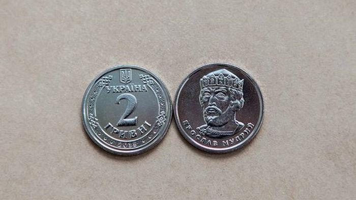 В НБУ анонсировали новый дизайн монет номиналом 1 и 2 гривны