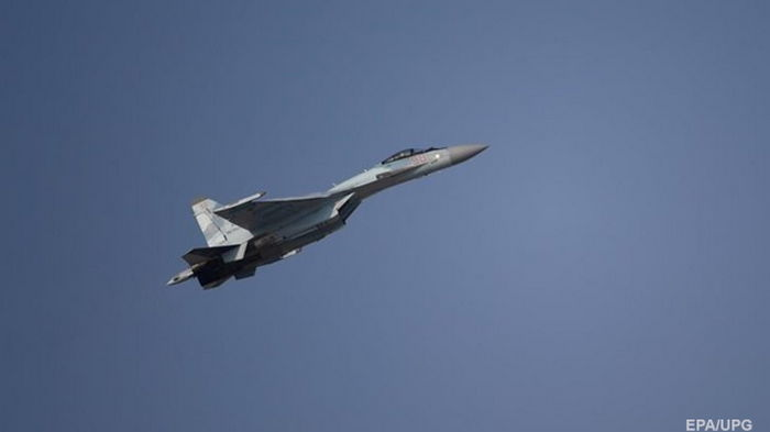 В России разбился истребитель Су-35