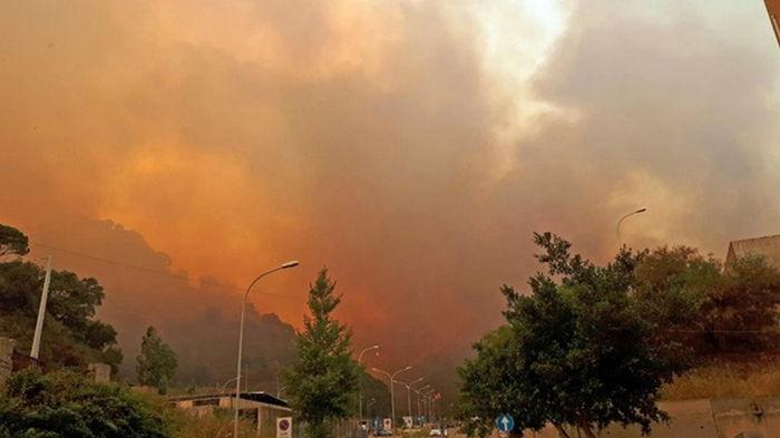 На Сицилии арестовали поджигателей леса