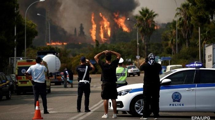 В Греции за несколько дней вспыхнули почти 600 пожаров