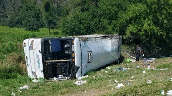 Более 50 человек пострадали в ДТП с туристическим автобусом в США