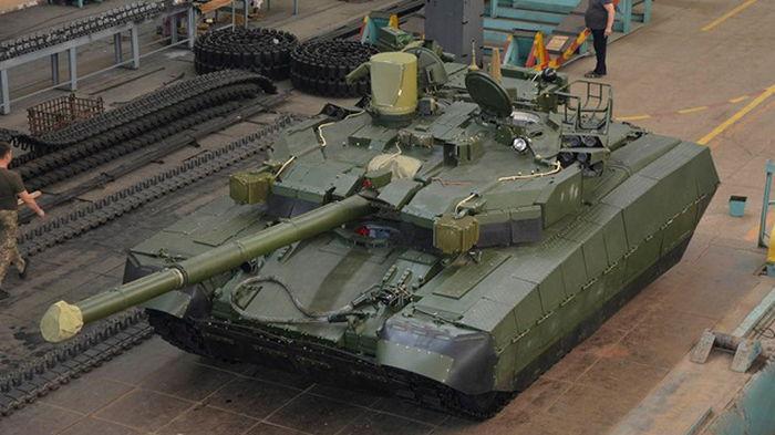 В Харькове закончили изготовление танка Оплот (фото)