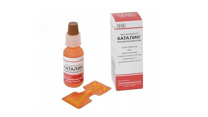 Эффективность лечения катаракты на практике при приеме глазных капель «Каталин»