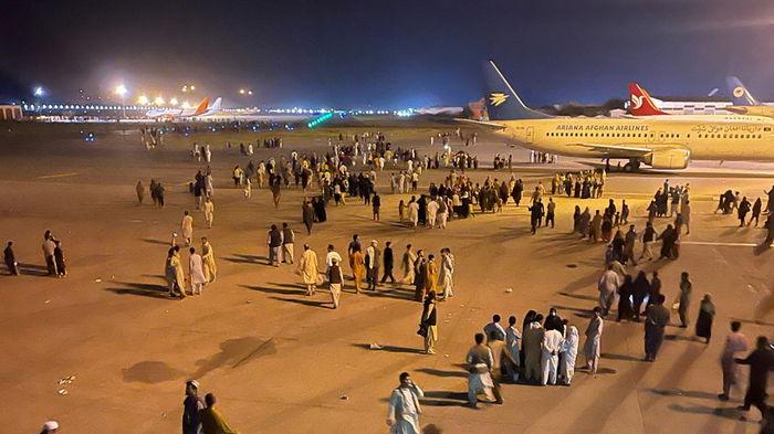 США расширили периметр безопасности в аэропорту Кабула