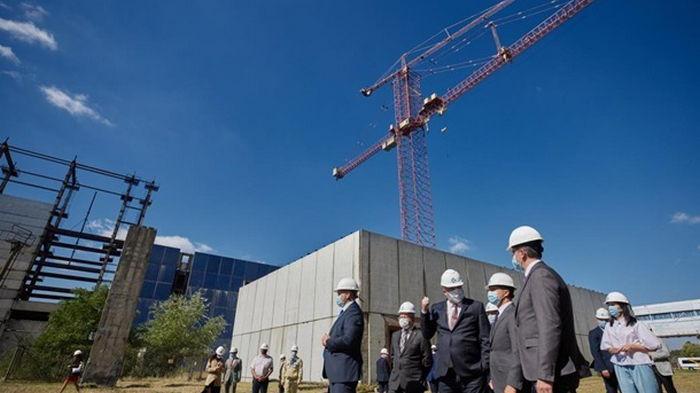 США помогут Украине со строительством блоков АЭС