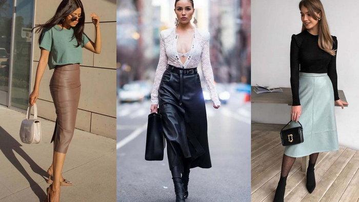 Выбор модных юбок для женщин