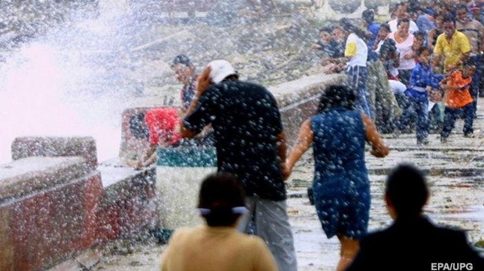 На Мексику обрушился ураган Олаф