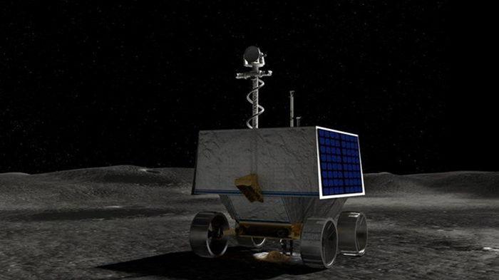NАSА выбрало место посадки для миссии лунохода (фото)