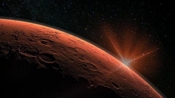 Марс сотрясли тысячи суперизвержений вулканов