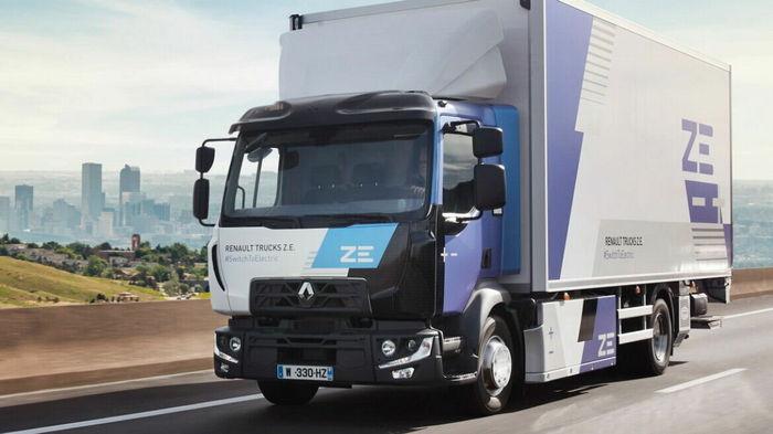 Renault расширила линейку грузовиков на электротяге