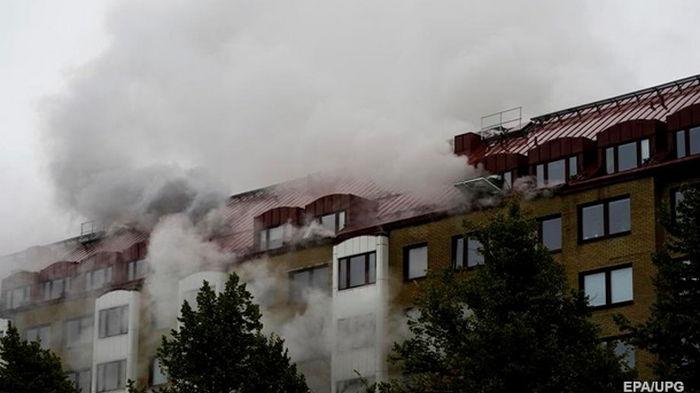В шведском Гетеборге при взрыве пострадали более 20 человек (фото)