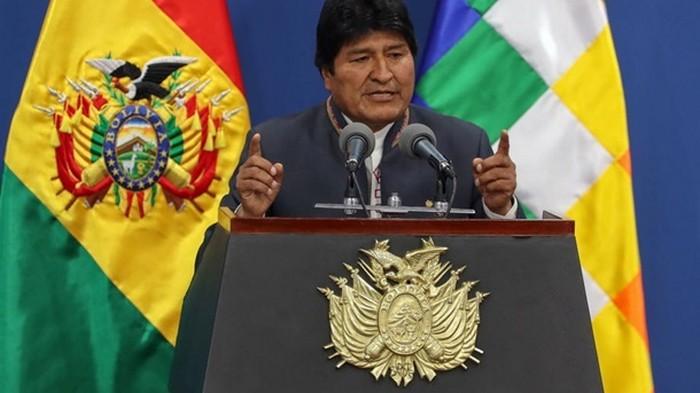 Моралес отреагировал на сообщение об ордере на его арест